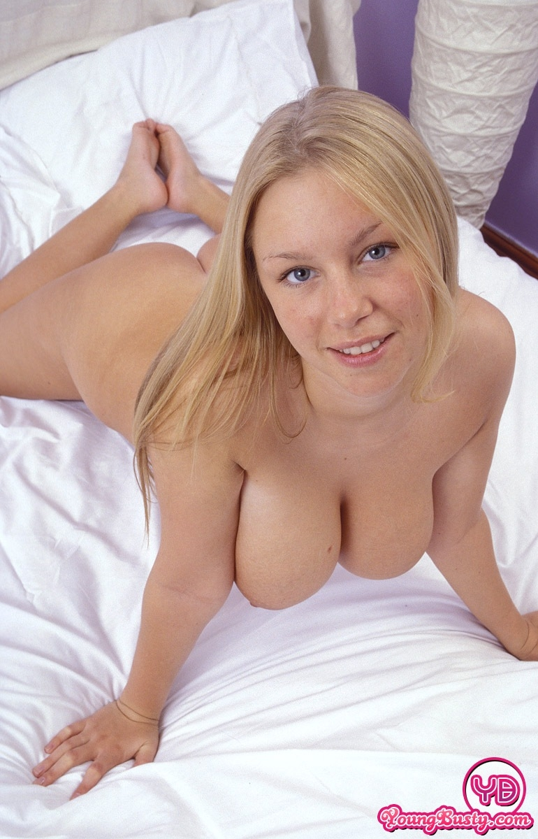 blonde busty Natural women nude