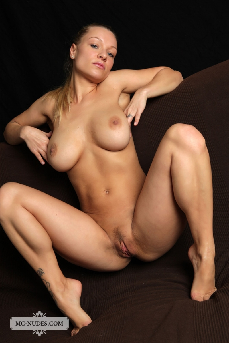 Perfect small breasts nude