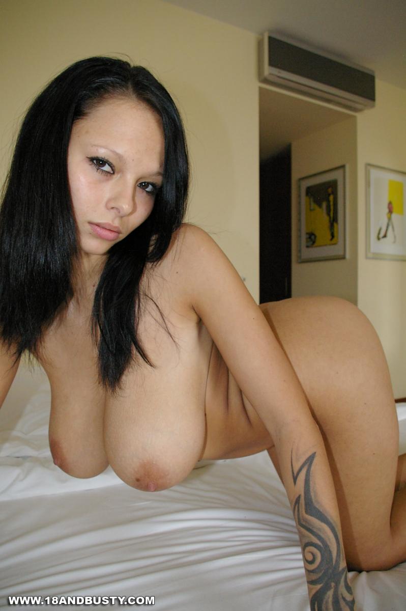 Hot brunette boobs pity