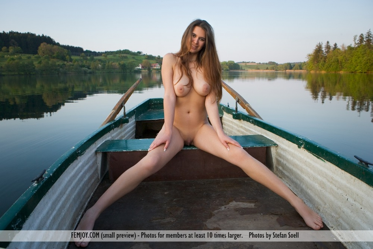 Really. was naked babe in boat