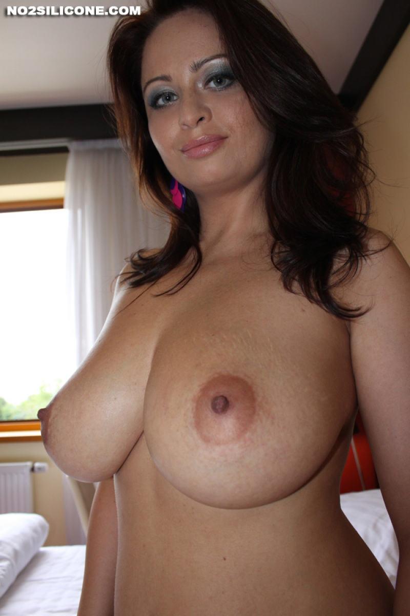 Huge naked boobs