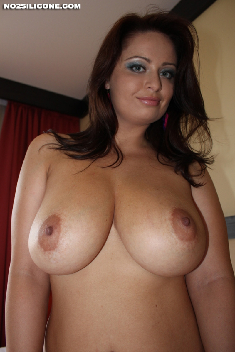 Big Natural Tits Caught