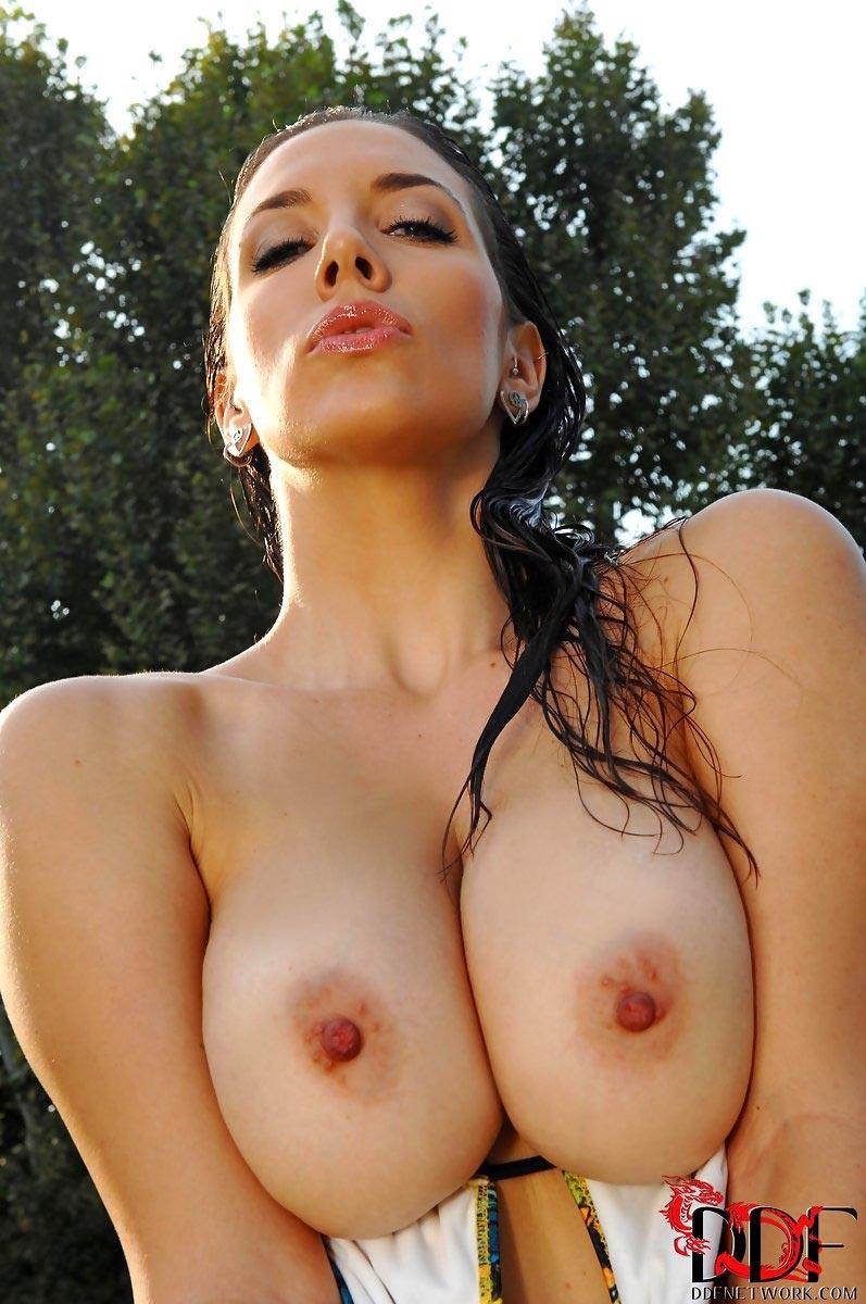 Jelena big naturals bikini incredibly gorgeous!