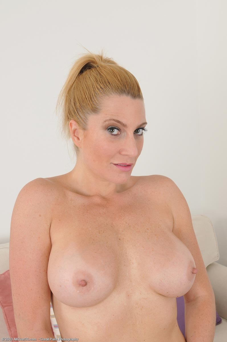 image Top blond milf and her big tits porked