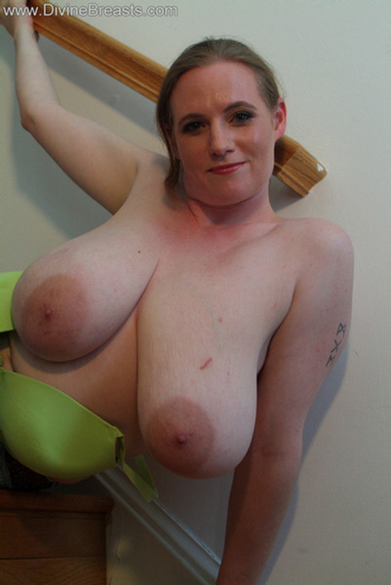 huge fake boobs naked