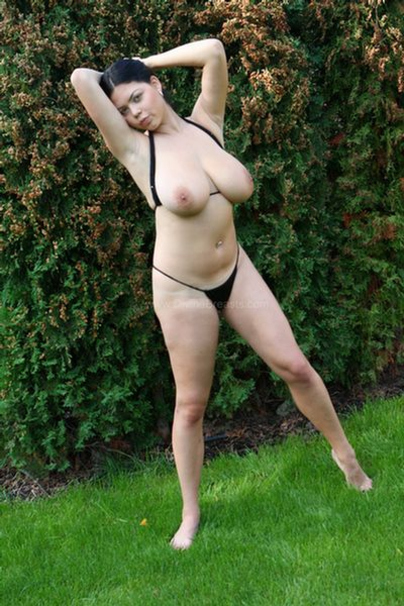Big tits in the backyard — 11