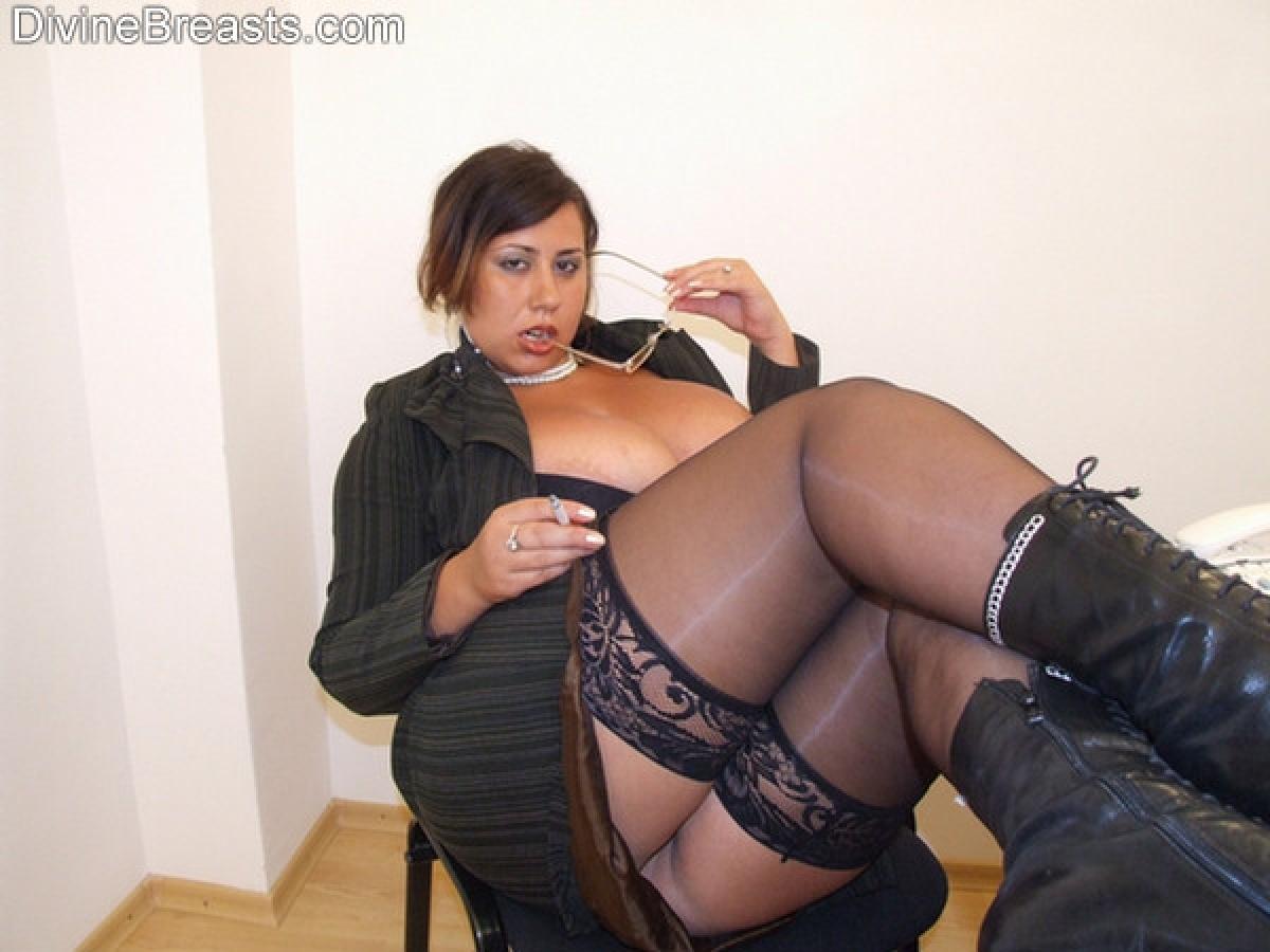 Секси начальница в чулках 19 фотография