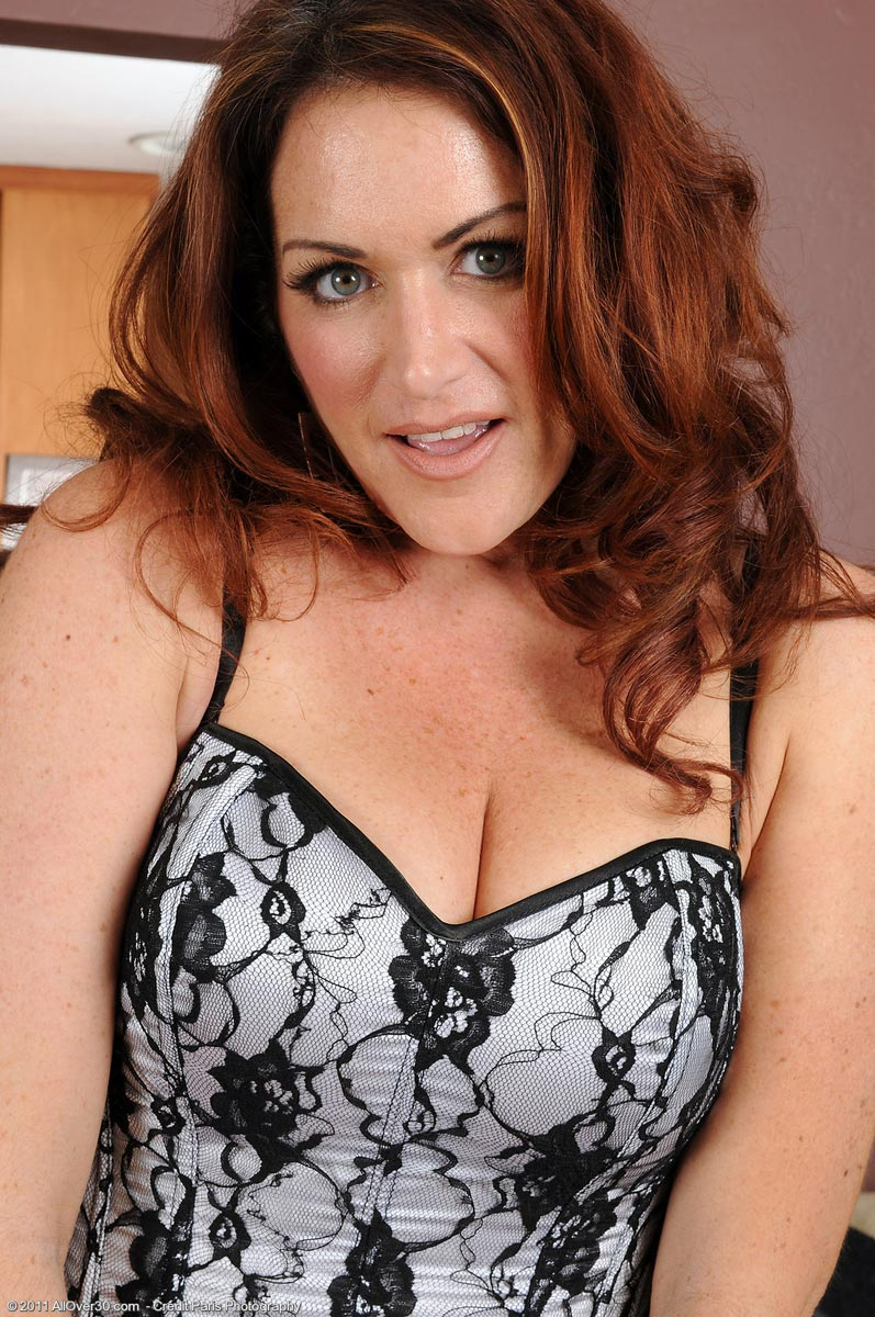 Curvy mature women big boobs redhead something is
