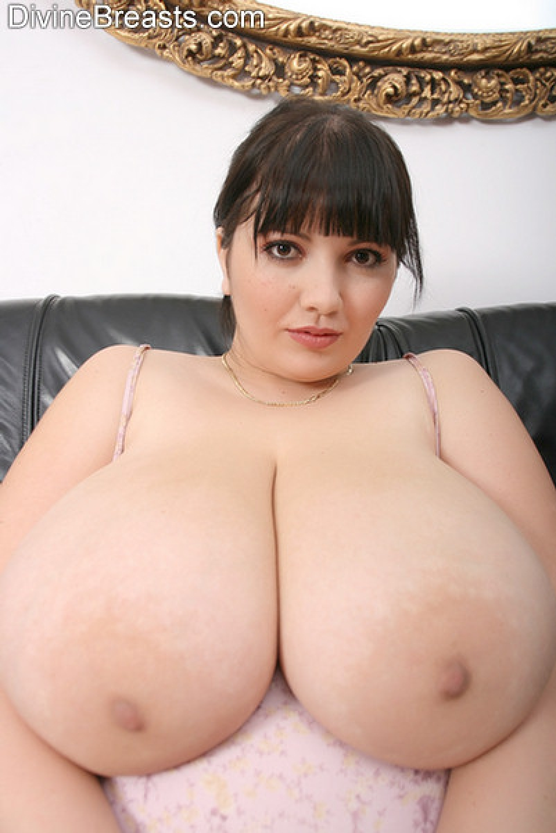 Woman huge hot perfect round boobs all nude