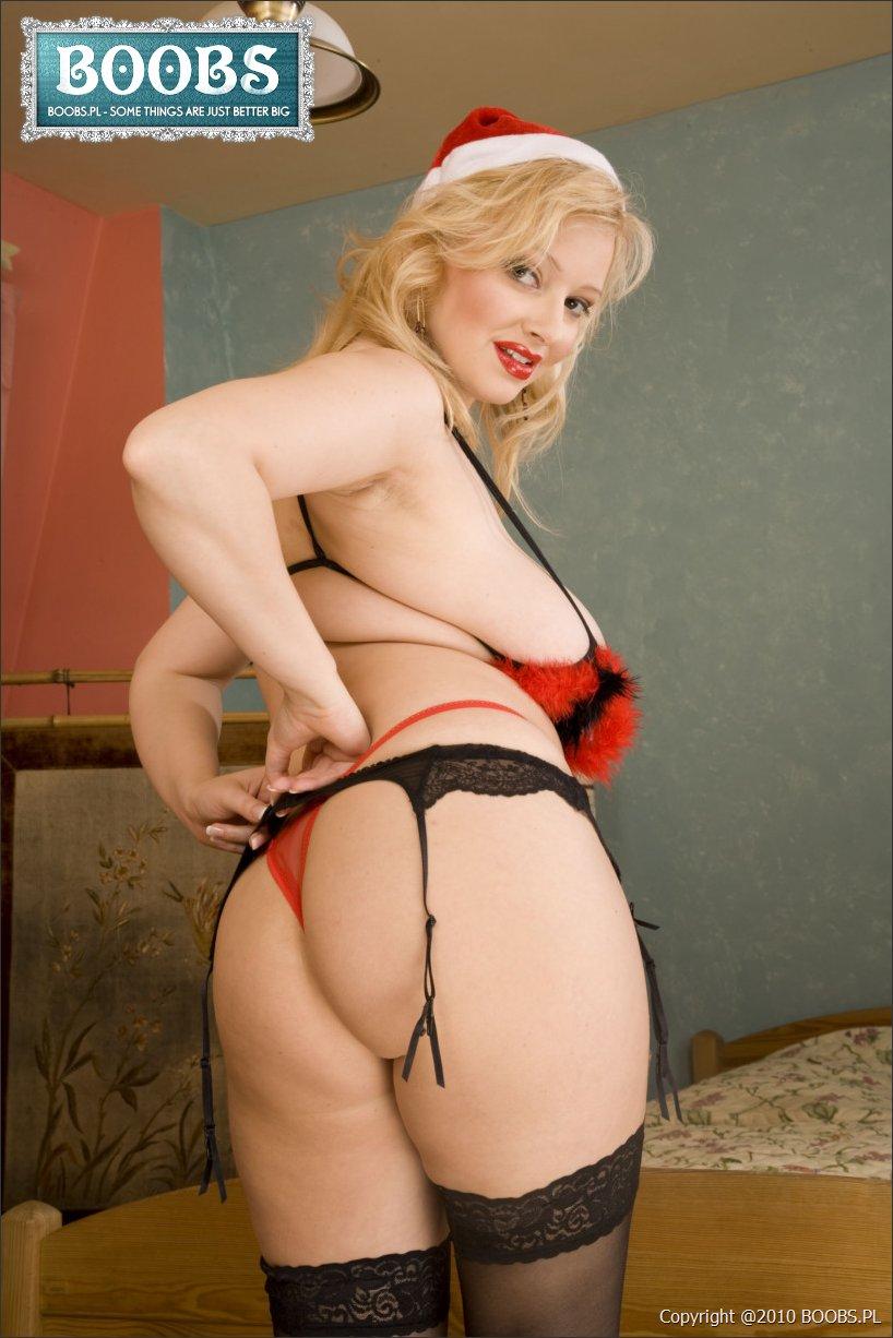 Big boob xmas porn