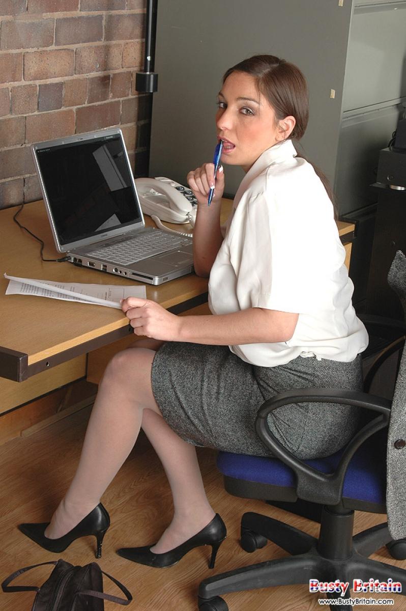 In office secretary strip