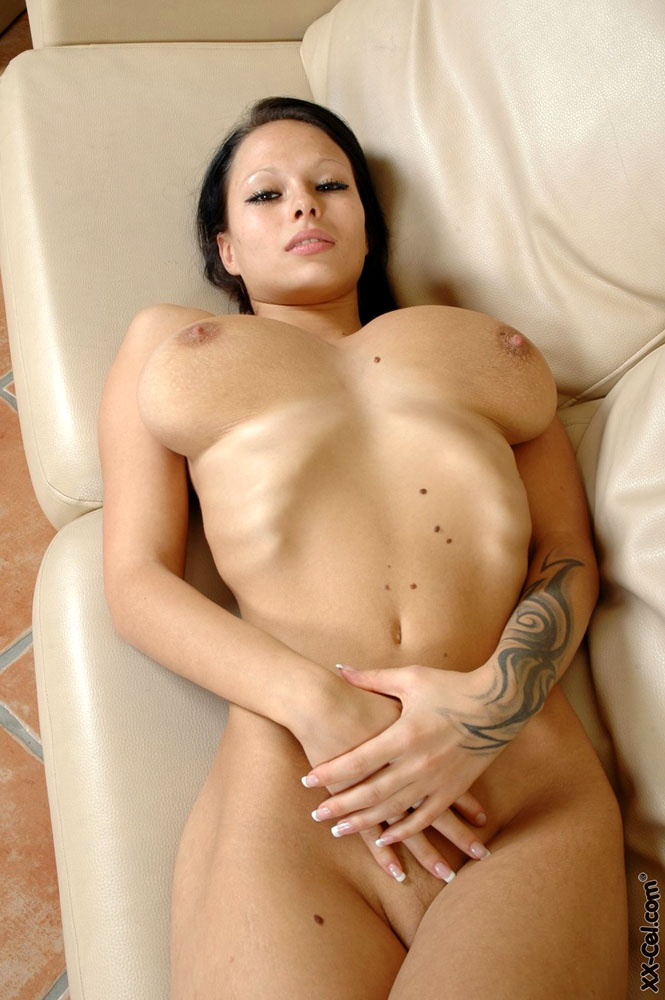 Naked large breast women for