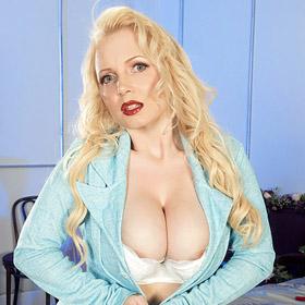 Alana Anderson Busty Blonde Cougar