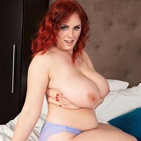 Alexsis Faye Topless Redhead