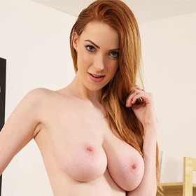 Alice Brookes Busty Tall Redhead