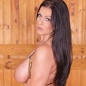 Anissa Jolie Fun in the Sauna