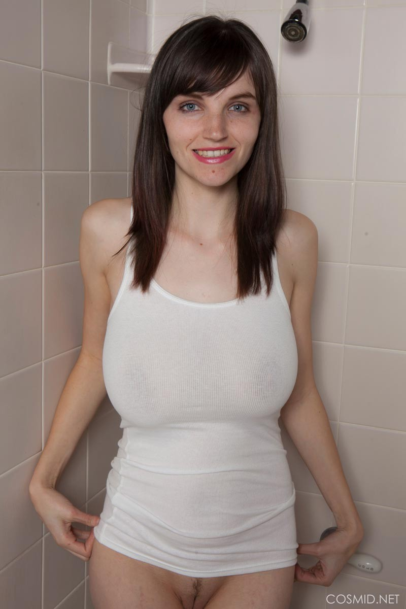 Wet shirt amateur t