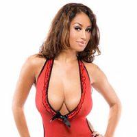 Carmen Bella in Red Lingerie