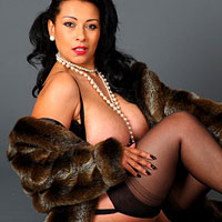 danica-collins-looking-hot-in-her-furry-coat