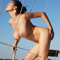 femjoy-sofie-naked-on-a-boat