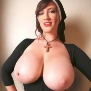 Lana Kendrick Busty Nun